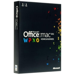 Microsoft Office 2011 Home & Business - Complete Product - 1 User