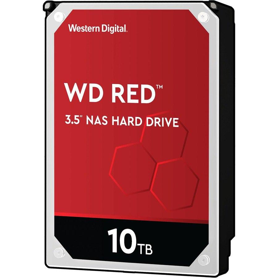 """WD Red WD100EFAX 10 TB Hard Drive - 3.5"""" Internal - SATA (SATA/600)"""