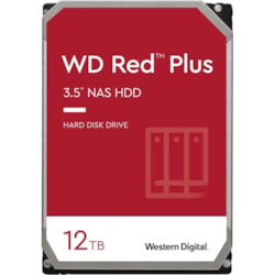 "WD Red Plus WD120EFAX 12 TB Hard Drive - 3.5"" Internal - SATA (SATA/600)"