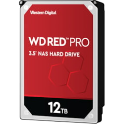 "WD Red Pro WD121KFBX 12 TB Hard Drive - 3.5"" Internal - SATA (SATA/600)"
