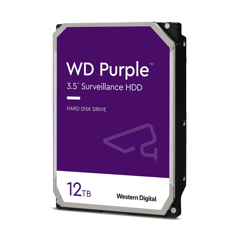 """WD Purple WD121PURZ-20PK 12 TB Hard Drive - 3.5"""" Internal - SATA (SATA/600)"""