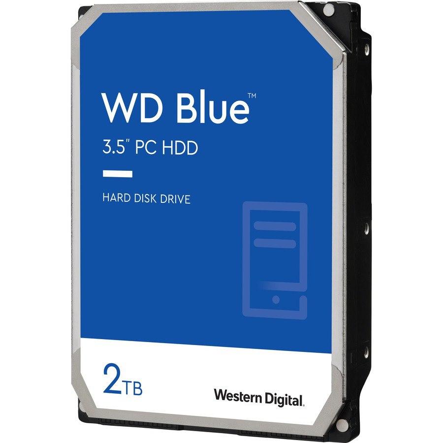 """WD Blue WD20EZBX 2 TB Hard Drive - 3.5"""" Internal - SATA (SATA/600)"""