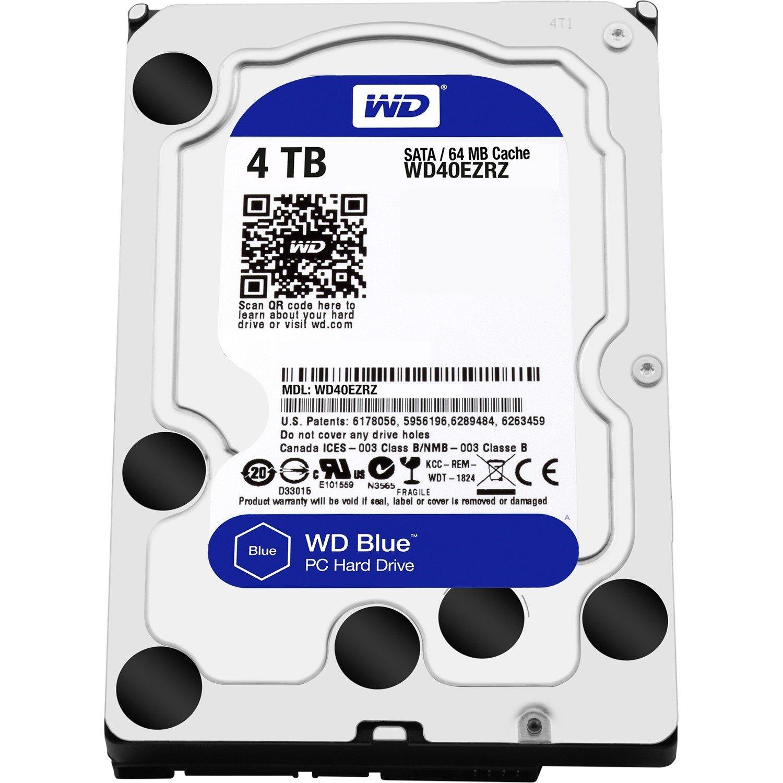 "WD 4 TB Hard Drive - SATA (SATA/600) - 3.5"" Drive"
