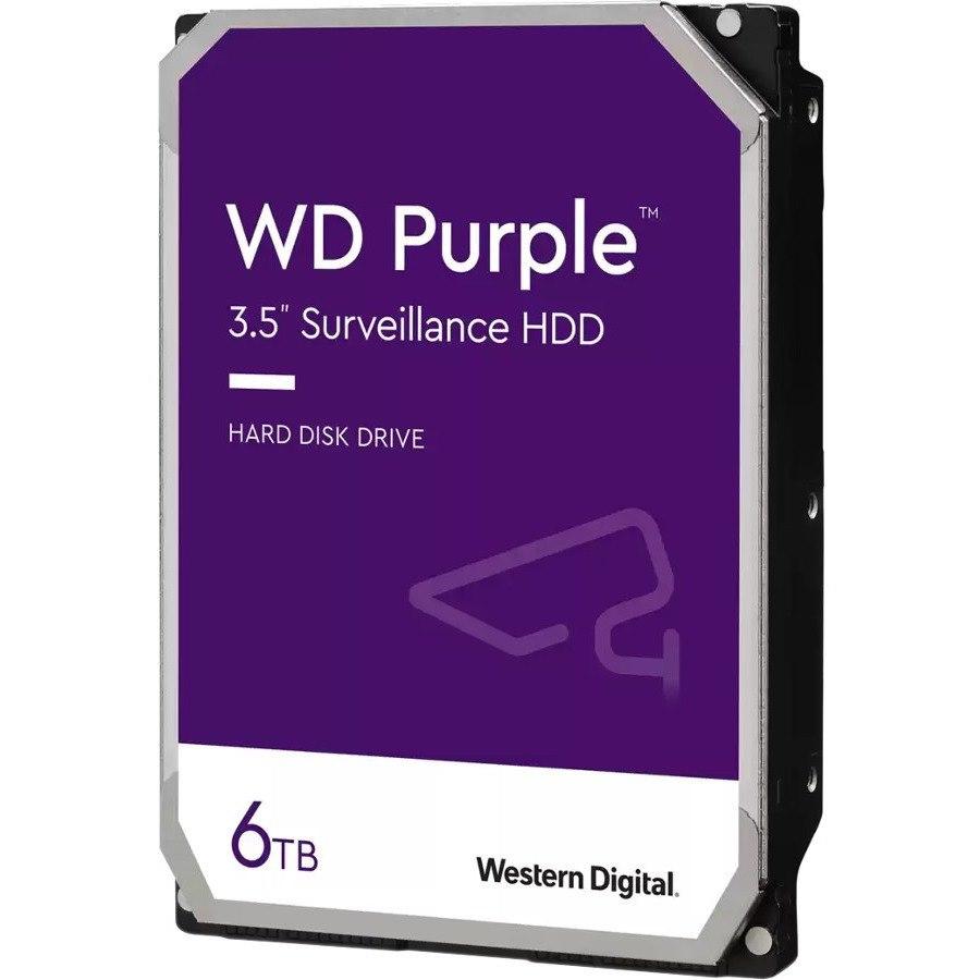 "WD Purple WD62PURZ 6 TB Hard Drive - 3.5"" Internal - SATA (SATA/600) - Write Intensive"