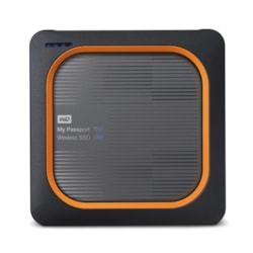 WD My Passport Wireless WDBAMJ5000AGY-NESN 500 GB Portable Network Solid State Drive - External