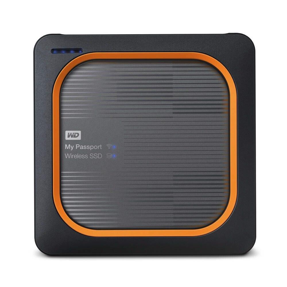 WD My Passport Wireless WDBAMJ5000AGY-PESN 500 GB Portable Network Solid State Drive - External