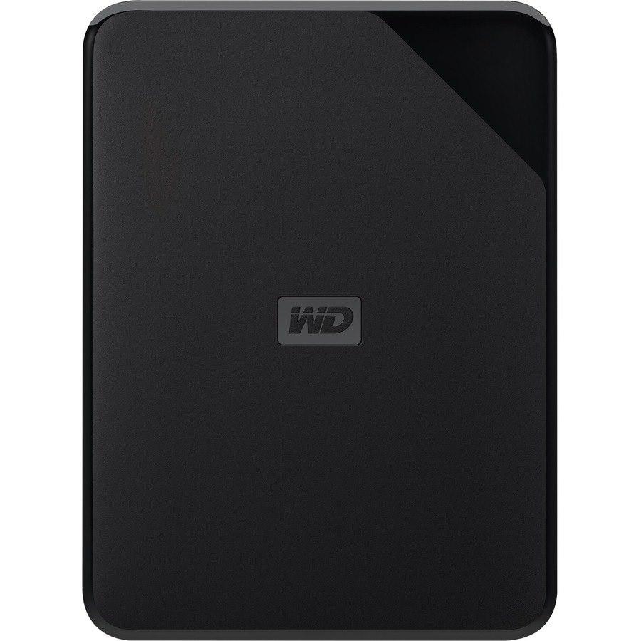 "WD Elements SE WDBEPK0010BBK-WESN 1 TB Portable Hard Drive - 2.5"" External - Black"