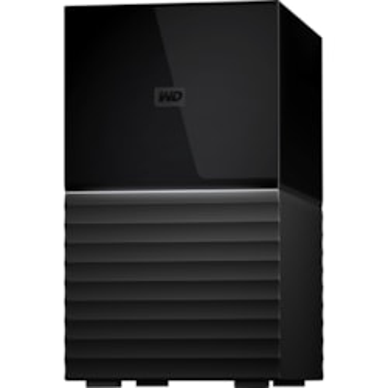 WD My Book Duo WDBFBE0200JBK-AESN 2 x Total Bays DAS Storage System Desktop