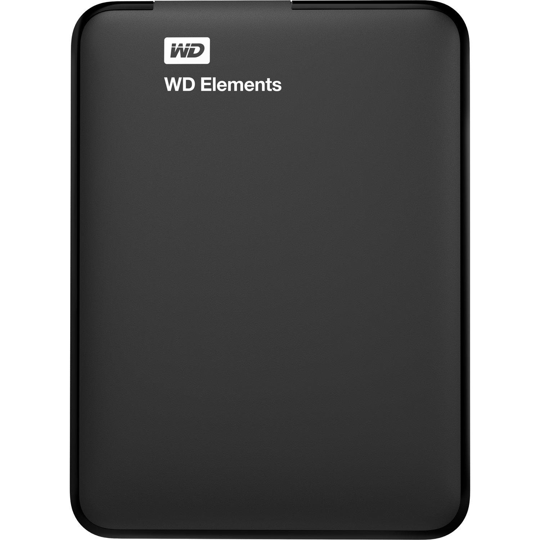 "WD Elements WDBU6Y0020BBK 2 TB 2.5"" External Hard Drive - Portable"