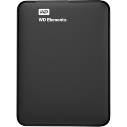 WD Elements SE WDBU6Y0040BBK-WESN 4 TB Portable Hard Drive - External - Black