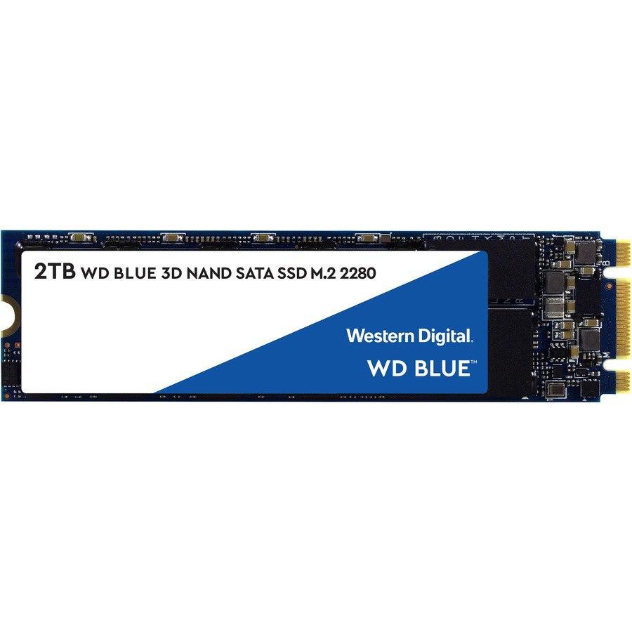 WD Blue WDS200T2B0B 2 TB Solid State Drive - M.2 2280 Internal - SATA (SATA/600)