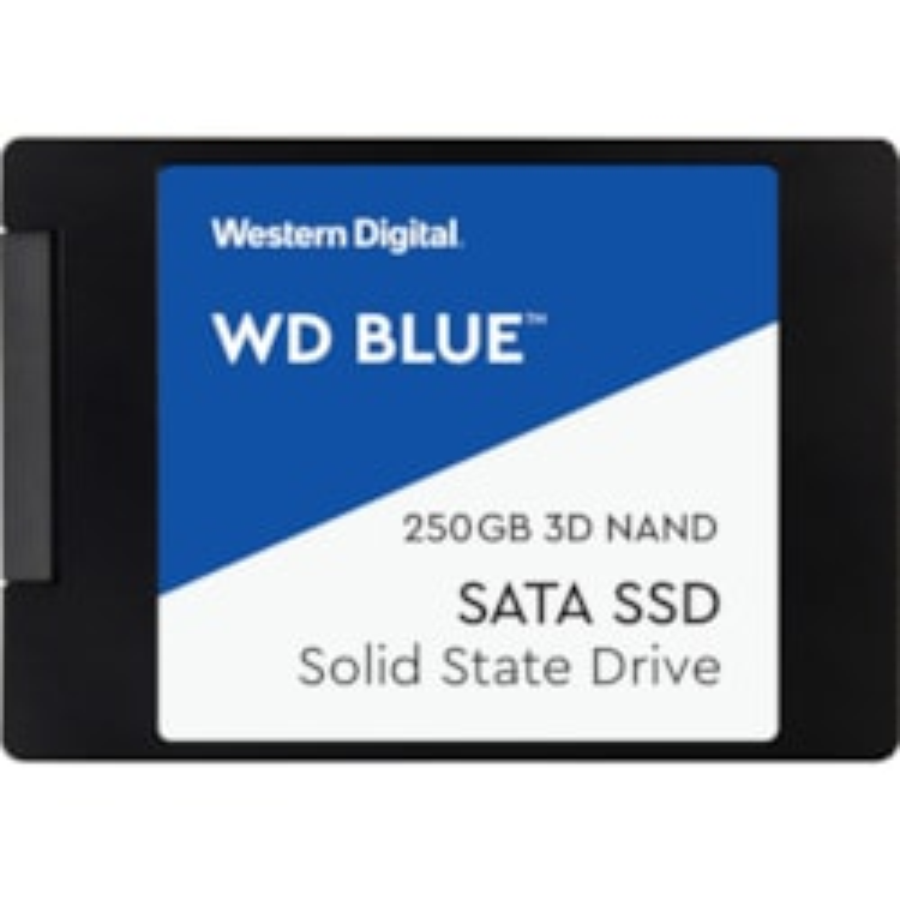 """WD Blue WDS250G2B0A 250 GB Solid State Drive - 2.5"""" Internal - SATA (SATA/600)"""