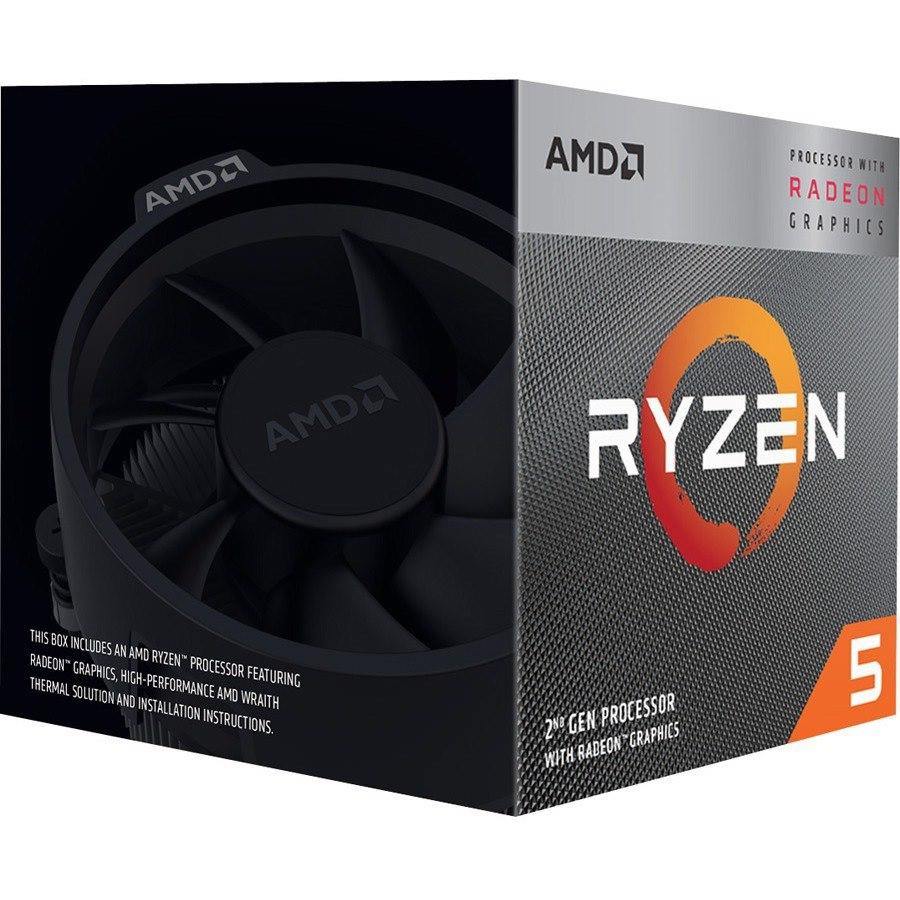 AMD Ryzen 5 3400G Quad-core (4 Core) 3.70 GHz Processor - Retail Pack