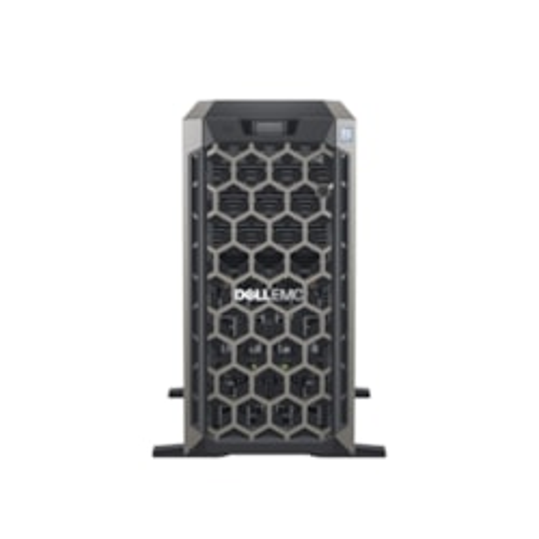 Dell EMC PowerEdge T440 5U Tower Server - 2 x Intel Xeon Silver 4208 2.10 GHz - 32 GB RAM - 1 TB (1 x 1 TB) HDD - 12Gb/s SAS, Serial ATA/600 Controller
