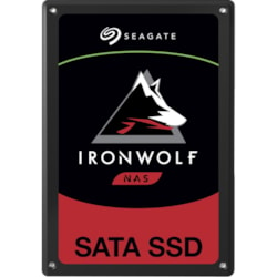 "Seagate IronWolf 110 ZA480NM10011 480 GB Solid State Drive - 2.5"" Internal - SATA (SATA/600) - Conventional Magnetic Recording (CMR) Method"