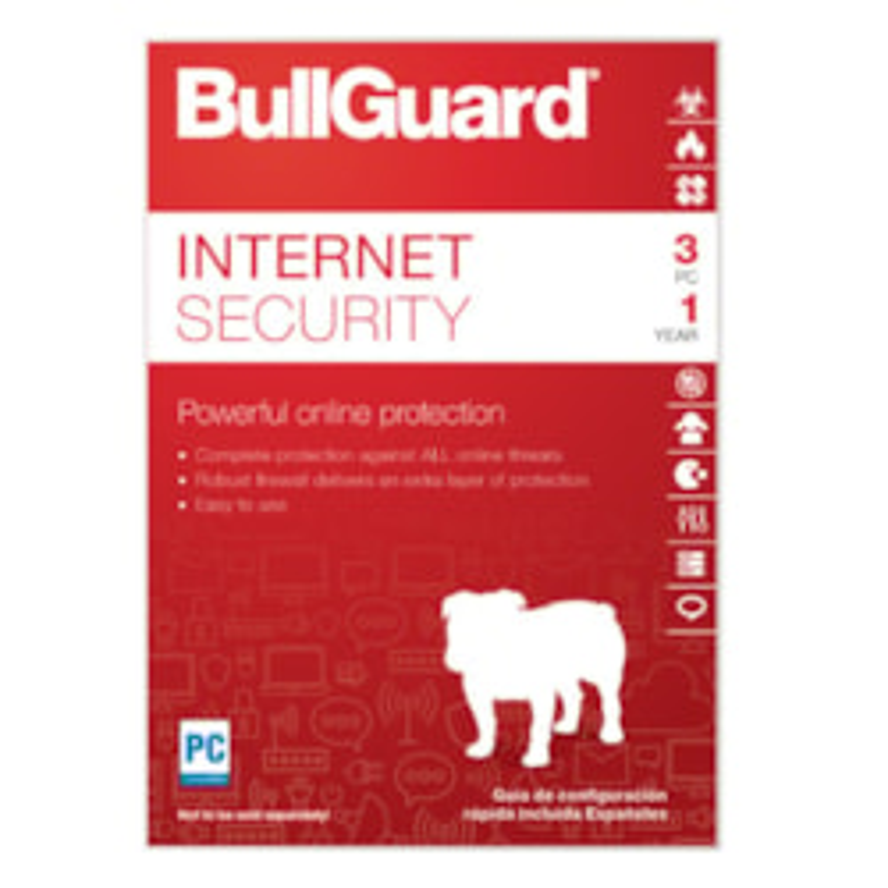 Bullguard Oem 3PC, 1 Year Internet Security - Oem [No Media]