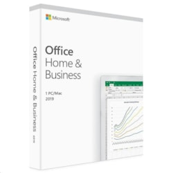 Microsoft T5D-03301 Office Home And Business 2019, Medialess, Retail Box