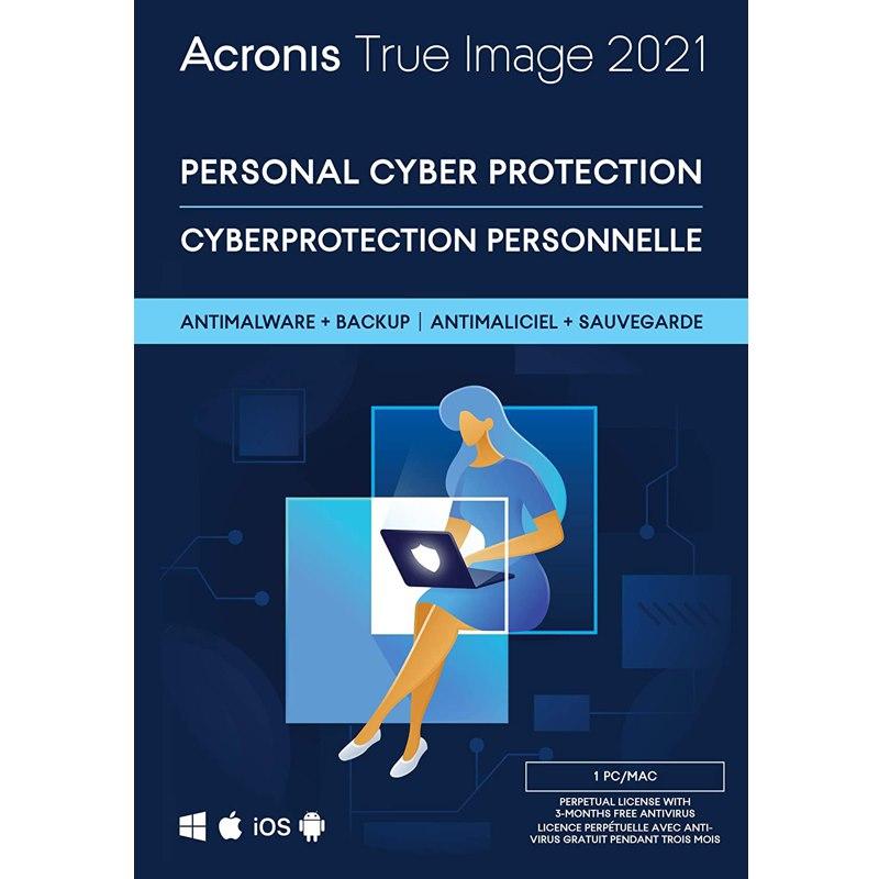 Acronis True Image 2021, Retail