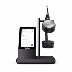 Yealink Microsoft Teams Dect Stereo Wireless Headset, Yealink Acoustic Shield Technology, Uc Button, 1X Usb 3.0 And 2X Usb 2.0 Ports, Speakerphone, Bluetooth, 4'' Touch Screen, 2.5MM Jack For Optional