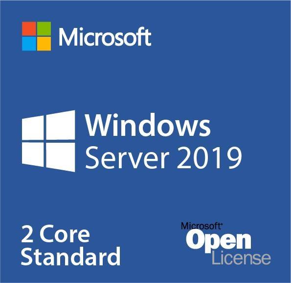 Microsoft Windows Server 2019 Standard - License - 2 Core