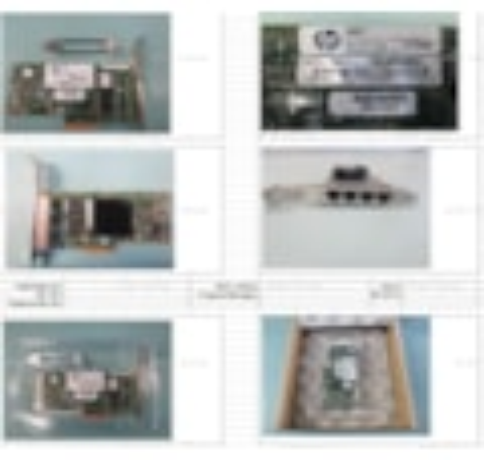 HPE 366T Gigabit Ethernet Card for Server - 10/100/1000Base-T - Plug-in Card