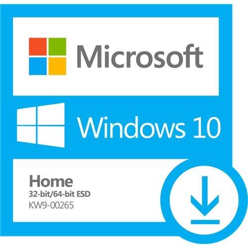 Microsoft Windows 10 Home 32/64-bit - License - 1 License