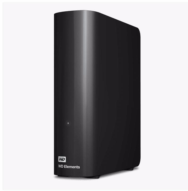 "WD Elements WDBBKG0080HBK-AESN 8 TB Desktop Hard Drive - 3.5"" External - Black"