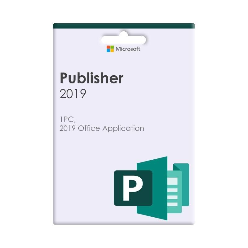 Microsoft Publisher 2019 - License - 1 PC