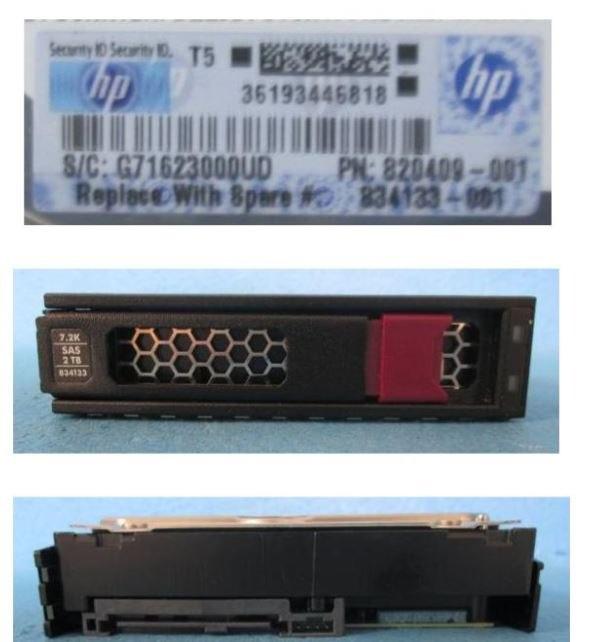 "HPE 2 TB Hard Drive - 3.5"" Internal - SAS (12Gb/s SAS)"