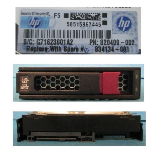 "HPE 4 TB Hard Drive - 3.5"" Internal - SAS (12Gb/s SAS)"