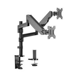 Brateck Dual Minitor Full Extension Gas Spring Dual Monitor Arm (Independent Arms) For 17'-32'