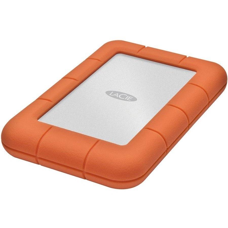 LaCie Rugged Mini 2 TB External Hard Drive - Portable