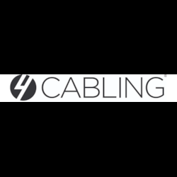 4Cabling White 6 Outlet Powerboard | 1M Lead