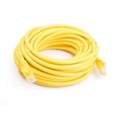 8Ware Cat6a Utp Ethernet Cable 10M SnaglessYellow
