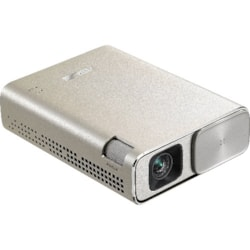 Asus ZenBeam Go E1z Usb Pocket Projector, 150 Lumens, Built-In 6400mAh Battery, Up To 5-Hour Projection Time, Power Bank, Micro Usb / Type-C