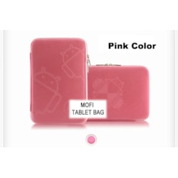 Leader Computer Tablet 10' MofiZip Case Pink Andriod Logo. Suit Any 10' Tab