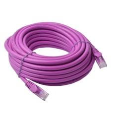 8Ware Cat6a Utp Ethernet Cable 10M SnaglessPurple