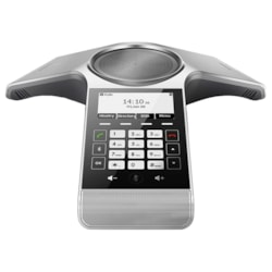 Yealink CP930W Dect Ip Conference Phone, Optima HD Voice, Full Duplex, Built-In Battery, Bluetooth 4.0, , Charging Cradel W/Psu- W60B Bundle Pack