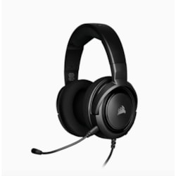 Corsair HS35 Stereo Gaming Headset Discord Certified, Clear Sound, And Plush Memory Foam, Carbon