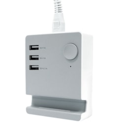 Astrotek Usb Charging Station Charger Hub 3 Port 5V 4A With 1.5M Power Cable White For iPhone Samsung iPad Tablet GPS (LS)