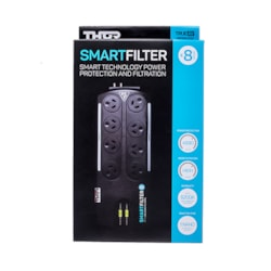 Thor 8 Way Smart Filter Surge Protected Power Board