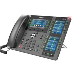 """Fanvil X210 - 20 Line Ip Phone, 4.3"""" Color LCD + 2 * 3.5"""" Color LCD, 127 DSS Key, Build-In BT, Dual 1000Mbps Eth Port ( 2 Year Warranty )"""