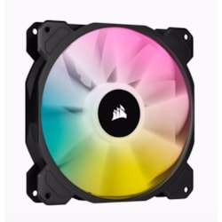 Corsair SP140 RGB Elite, 140MM RGB Led Fan With AirGuide, Single Pack