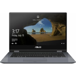 """Asus Vivobook Flip,Core I5-10210U 1.6/4.2Ghz,8GB,256GB SSD,14.0"""" FHD Touch With Sylus,Win 10 Home 64"""