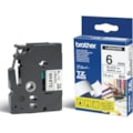 Brother | Tze-211 Laminated Tape 6MM X 8M - Black On White