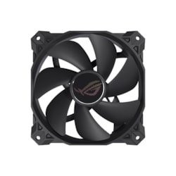 Asus Rog Strix XF120 4-Pin PWM Fan For PC Case/Radiator/CPU Cooling, 120X120X25, Whisper Quiet, Anti Vibration, 400,000 Hours, 5 YR Warranty