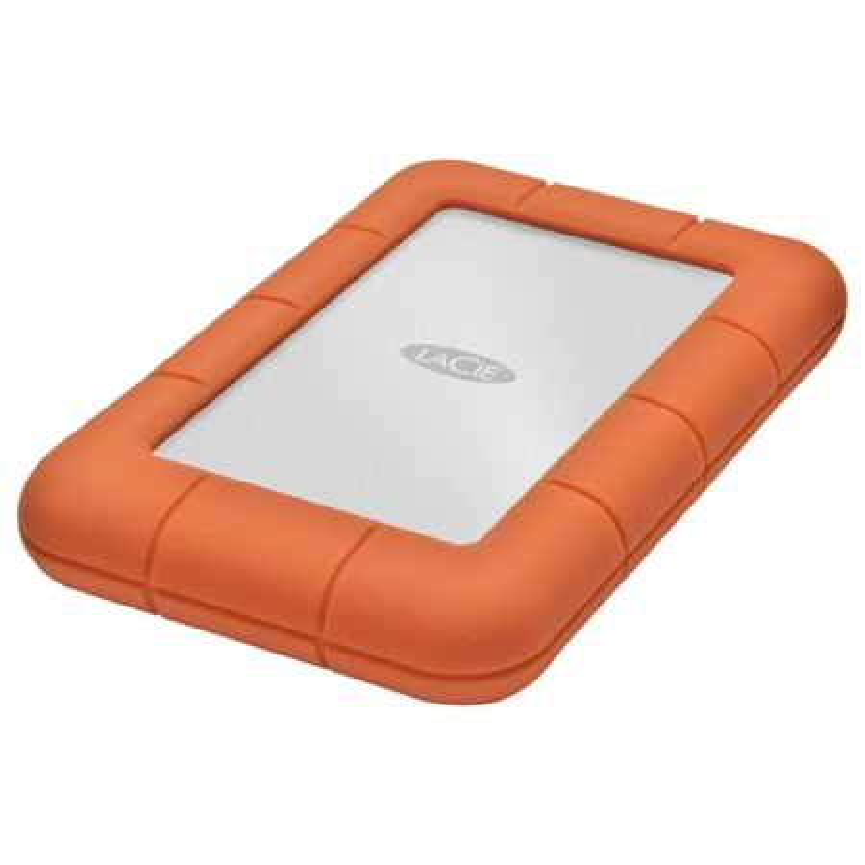 "LaCie Rugged Mini 301558 1 TB 2.5"" External Hard Drive - Portable"