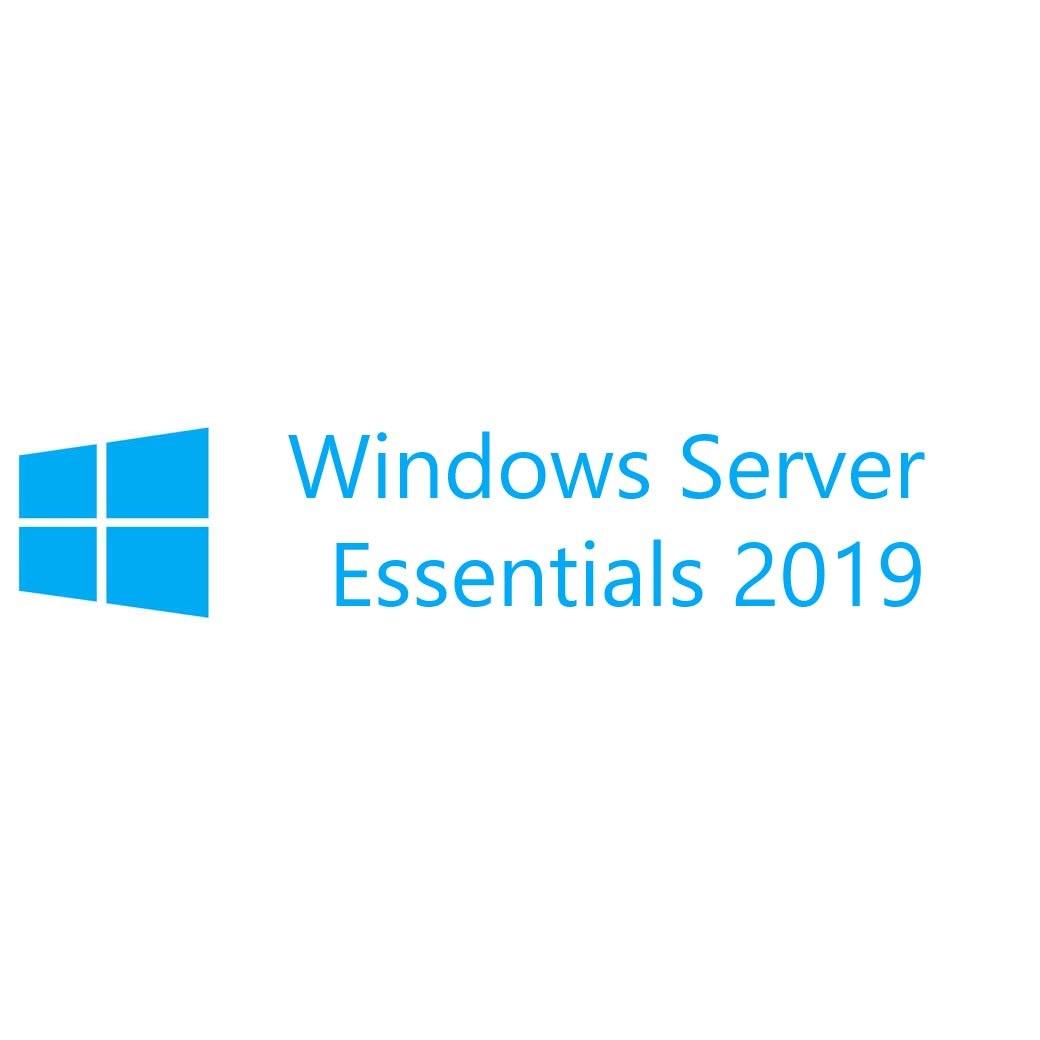Microsoft Windows Server 2019 Essentials 64-bit - License - 1 Server (1-2 CPU)
