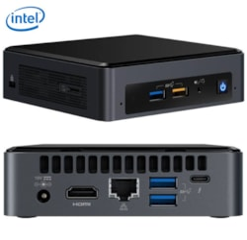 Intel NUC NUC8i5BEK Barebone System Mini PCIntel Core i5 8th Gen i5-8259U Quad-core (4 Core)