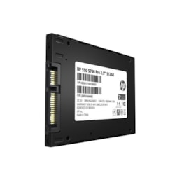 """HP SSD S700 Pro 2.5"""" Sata 512GB, 3D TLC Dram Cache With HP Controller H6028 And 560/520 Max R/W"""